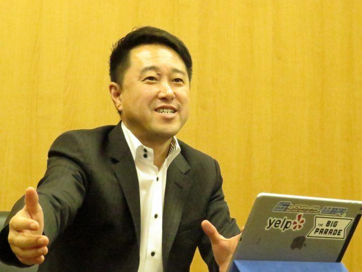株式会社ビジョン 代表取締役社長 佐野健一氏