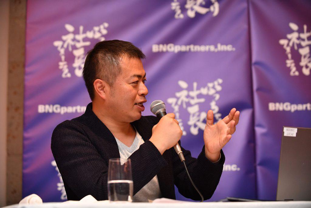 キープレイヤーズ(代表取締役)高野秀敏_201802ぶっちゃけ社長フォーラム